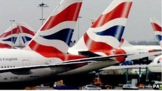 British Airways Boeing 747s