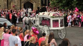 Linzi Ashton funeral