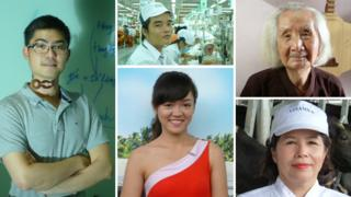 Five faces of Vietnamese