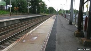 Uddingston Railway Station