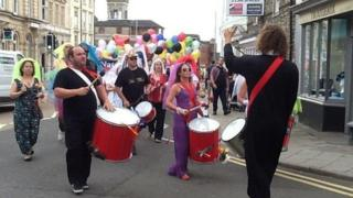 Swindon and Wiltshire Pride 2013