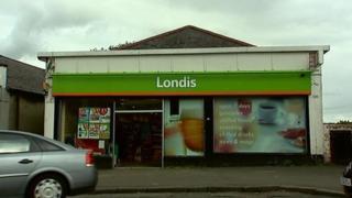 Londis shop in Baldwin Avenue