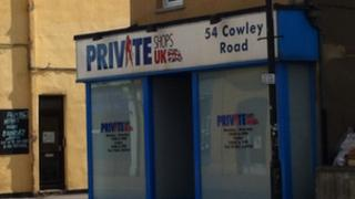 Private Shops UK store in Cowley Road