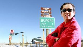 Pham Dinh Nguyen in Buford, Wyoming, in the US