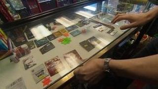 Legal highs in shop