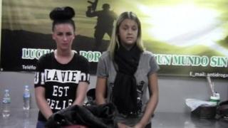 Michaella McCollum and Melissa Reid