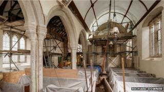 Repairs to the church