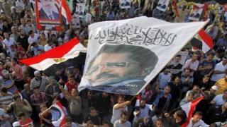 Morsi protesters