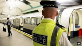 British Transport Police officer
