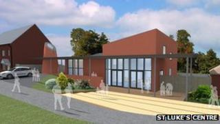 An artists' impression of the new St Luke's Centre