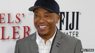"""Russell Simmons arrives as a guest to the premiere of the new film """"Lee Daniels"""" The Butler"""" in Los Angeles, California 12 August 2013"""