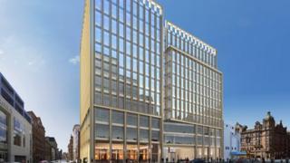 Computer generated image of the 1 Regent Street development