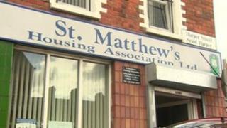St Matthew's Housing Association building