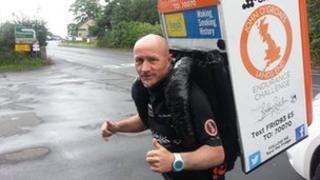 Tony Phoenix-Morrison with fridge