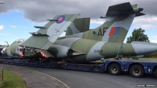 Buccaneer at Yorkshire Air Museum