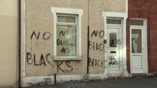 Racist attack