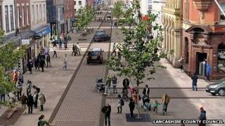 Artist impression of how Fishergate could look after the improvements