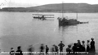 Hawker and Kauper's Sopwith waterplane at Invergordon