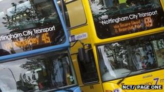 NCT's buses