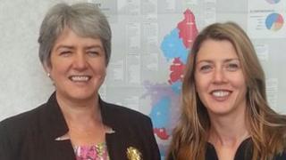 Merseyside PCC Jane Kennedy and Dr Jo Liddy