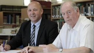 Gwyndaf Tobias a Selwyn Walters