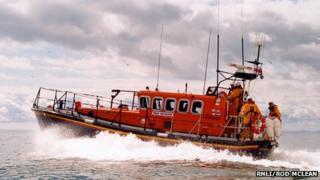 Arbroath lifeboat