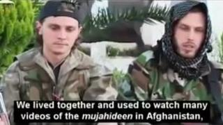 Nicolas and brother Jean Daniel, French Muslim converts fighting in Syria