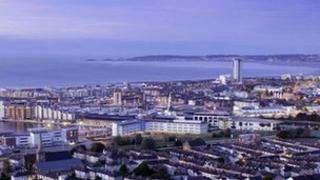 Overlooking Swansea