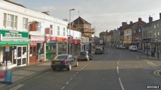 Silver Street in Kettering