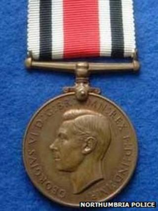 World War II Special Constable long service medal