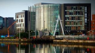 ITV Cymru Wales news HQ in Cardiff Bay
