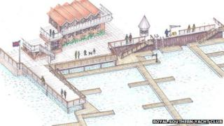 Plans for Prince Philip Yacht Haven