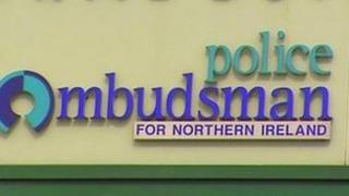 A complaint was lodged with the office of the Police Ombudsman