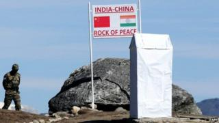 File photo of Indian Army personnel at Bumla Pass on the India-China border in Arunachal Pradesh
