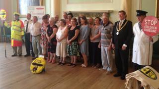 Lollipop staff honoured in Bath