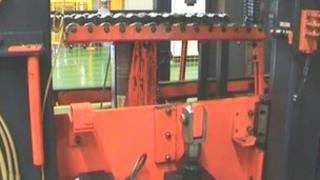 Pirelli factory tyre machine