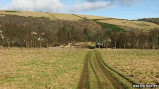 Farm land near Gattonside