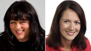 Liz Green and Alina Jenkins
