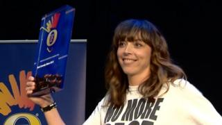 Bridget Christie won the 2013 prize for best comedy show