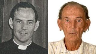 Francis Paul Cullen in the 1960s and in 2013