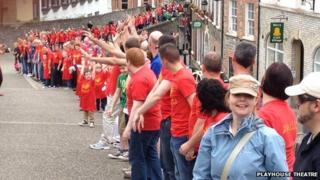 Derry Walls celebrations