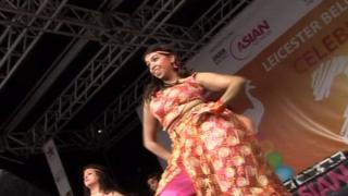 Dancing at Mela festival