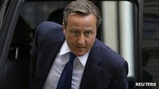 Y Prif Weinidog David Cameron