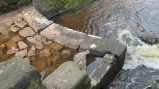 Sarn Mill Weir