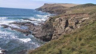 Pentire Point, north Cornwall