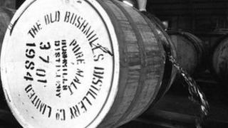 Bushmills barrel