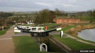 Foxton Locks, Leicestershire
