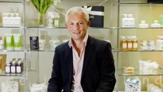 Arran Aromatics chairman Iain Pittman