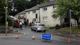 Fire at sheltered accommodation in St Austell