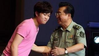 Li Tianyi, the son of high-profile Chinese army general Li Shuangjiang (left), has denied rape charges